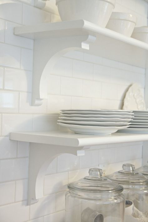 Mathis new old house-Kitchen | Kitchen shelves, Home ...