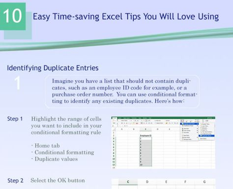 Excel training tricks that will impress your boss Excell\/word - format purchase order