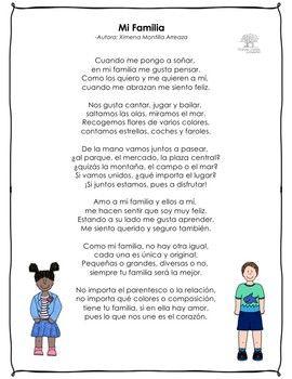 Mi Familia Poema Poemas Sobre La Familia Poemas Para La