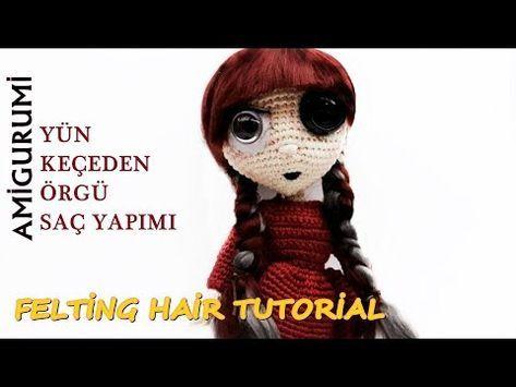 BD HOOK: Amigurumi Göz Yapımı - Amigurumi Make The Eyes (göz,kaş ... | 355x473