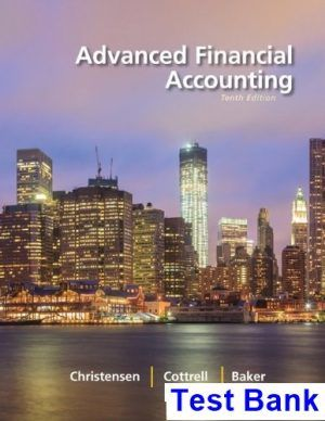 Pin On Advanced Financial Accounting 10th Edition Christensen Test Bank