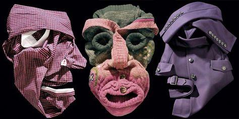 Bela Borsodi clothing faces