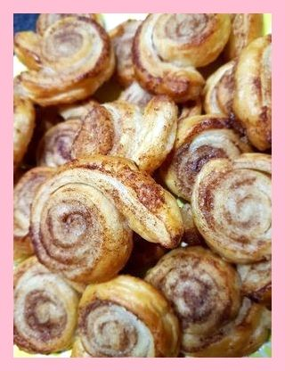 All Time Easy Cake : Cinnamon rolls of puff pastry,  #cinnamon #pastry #rolls
