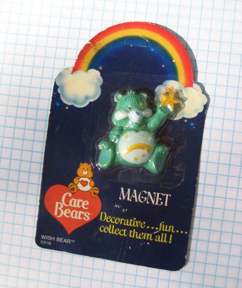 Vintage Care Bear Wish Bear Magnet