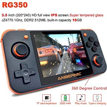 Mjkj Handheld Game Console Rg350 Retro Game Console Retro Games Console Game Console Portable Video Games