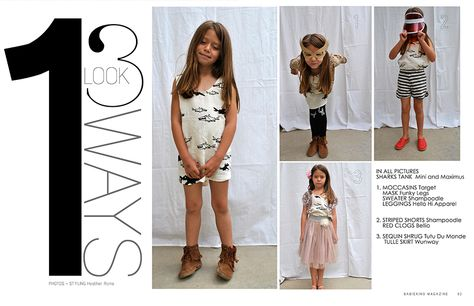 Check out how to style staple items three different 
