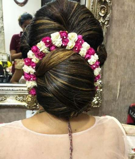 Trendy Hairstyles Wedding Indian Low Buns Ideas Hairdo Wedding Indian Wedding Hairstyles Indian Bridal Hairstyles