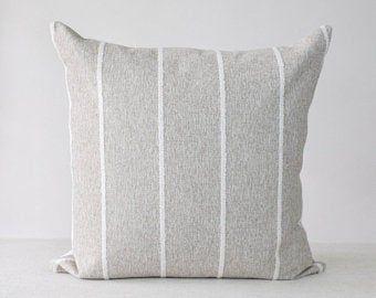 LORETTA Neutral Swiss Dot Pillow Cover