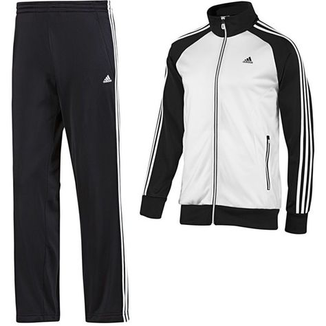 80421a27 Adidas Riberio Track Suit ($34) ❤ liked on Polyvore featuring mens e men's  clothing