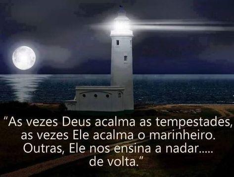 Espiritualidade Reflexao Frase As Vezes Deus Acalma As Tempestades