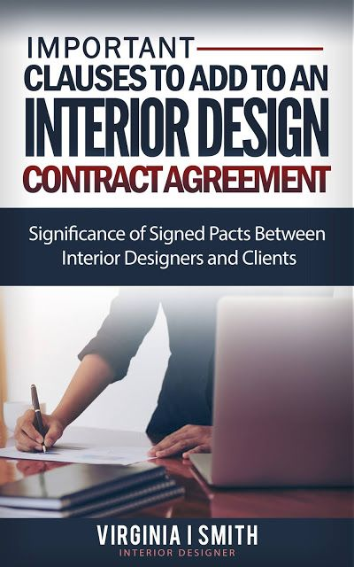 How to Write An Interior Design Contract Agreement Document