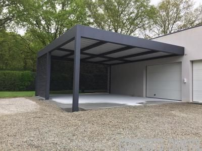 Carport Aluminium Tori Portails Building A Pergola Pergola Pergola Carport