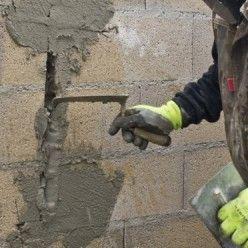 Epingle Sur Mur En Parpaing