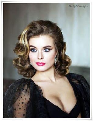 Lovely Retro Hairstyles For Women Retro Hairstyles Hair Styles Glamorous Hair