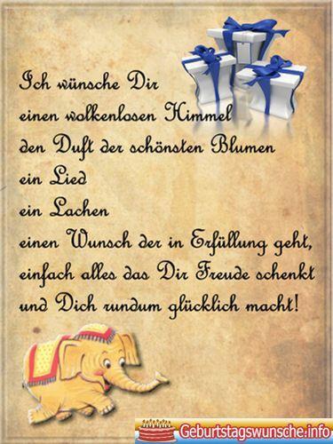 Happy Birthday In The Sky Geburtstag Im Himmel Alles Gute Zum