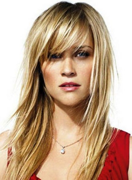 41 Ideas Hair Bangs Long Round Face Blondes Hair Styles Haircuts For Long Hair With Layers Medium Hair Styles