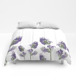 Lavender Flowers Comforters Pretty And Unique Designed By Nicki Traikos Www Lifeidesign Com Comforter Homedecor Home Decor Floor Pillows Home