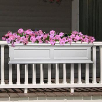 Planters Railing Flower Boxes Railing Planters Lowes Balcony