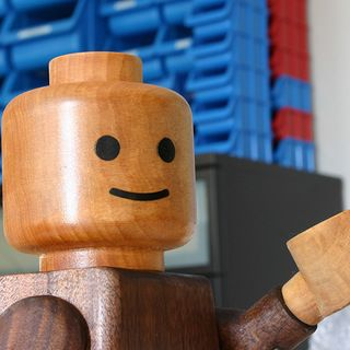 Giant Wooden Lego Men Boy Mom Stuff Lego Man Lego Wood