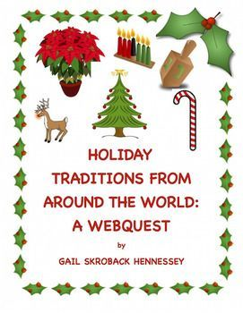 Whenever Different Cultures Meet Ideas Are Exchanged Did You Know That Skiing Was Started By The People Of Norway Did Yo Holiday Traditions Holiday Webquest