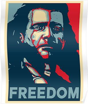Freedom Poster By Marcus Attilius Braveheart Hope Poster William Wallace