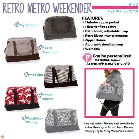 Retro Metro Weekender Patio Pop Thirty One