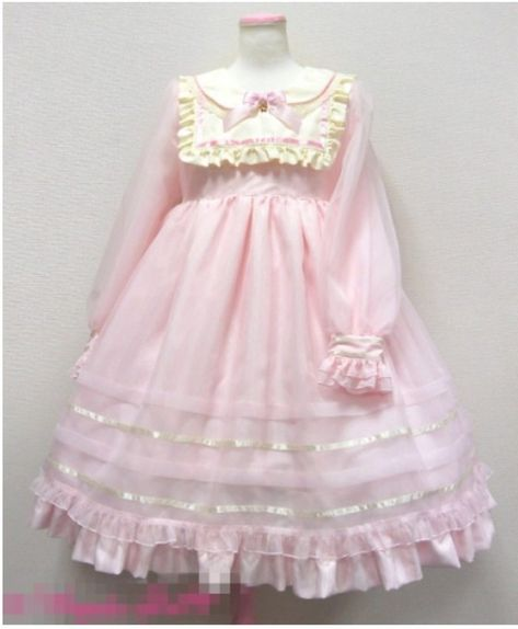My Pink and Frilly World Harajuku Mode, Harajuku Fashion, Kawaii Fashion, Cute Fashion, Rock Fashion, Emo Fashion, Fashion Dresses, Style Lolita, Mode Lolita