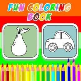 لعبة كتاب تلوين المرح Fun Coloring Book Coloring Books Fun Color