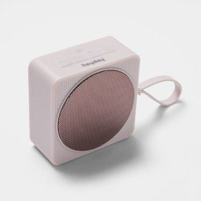 Heyday Small Portable Bluetooth Speaker With Loop Pink