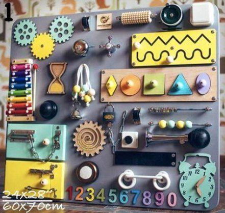 Best Diy Baby Toys Infants Busy Board 50 Ideas Diy Baby