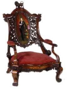 Victorian armchair 1851