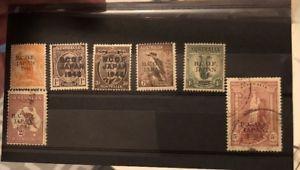 Bcof 1946 Set Of 7 Australian Set Of Stamps Ebay Stamp Postage Stamps Australian