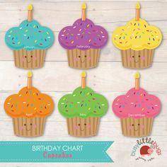 Month Birthday Chart Printables