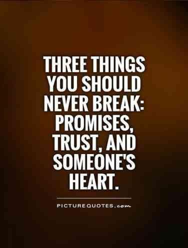 Sad Trust Broken Status