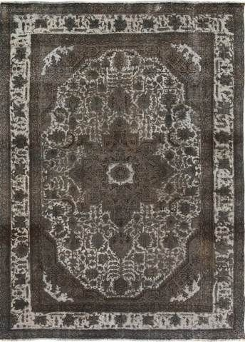 8 X 12 Charcoal White Vintage Overdyed Rug Rugs Vintage Living Room Area Rugs