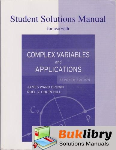 Complex Variables And Applications Solutions Manual Pdf
