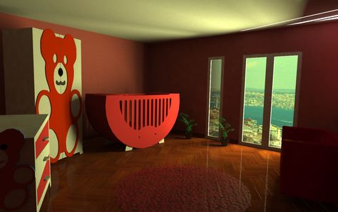 modern baby room design, baby room furniture, baby room decoration ...