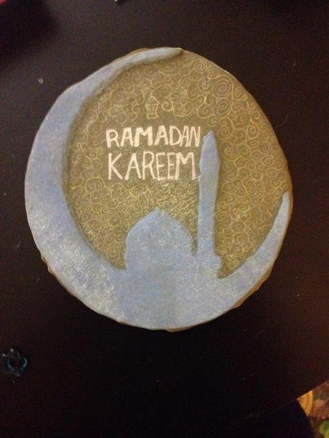 Door decoration for Ramadan