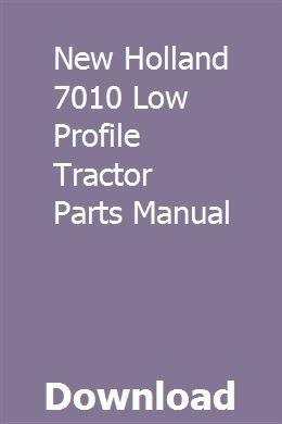 New Holland 7010 Low Profile Tractor Parts Manual Honda Civic Repair Manuals Honda Civic Hybrid