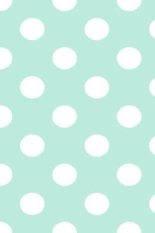 Mint Dot Background