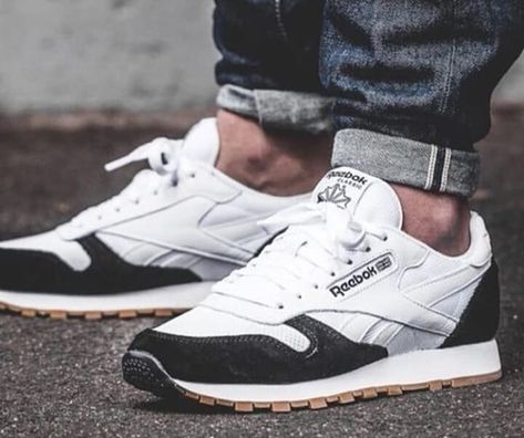 Buy Reebok Sneakers Online Classic Leather Pg Womens Black White