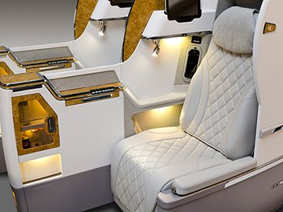 Business Class Cabin Features | Flying with Emirates | Cabin features | Emirates