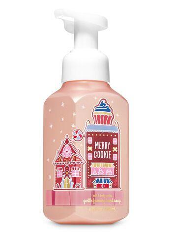 Merry Cookie Gentle Foaming Hand Soap Bath Body Works I