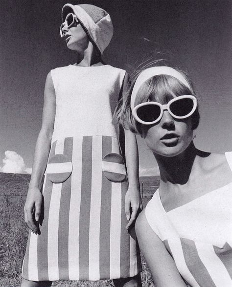 Fashion feature, Brigitte, 1966. Photograph by F.C. Gundlach. Image scanned by Sweet Jane.