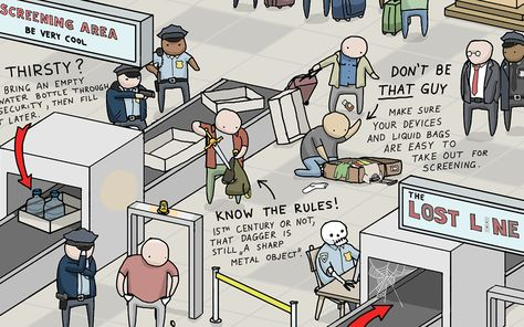 Pro Airport Hacks to Make Flying Suck Less [Infographic