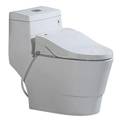 Woodbridge T 0008 Luxury Bidet Toilet Elongated One Piece Toilet