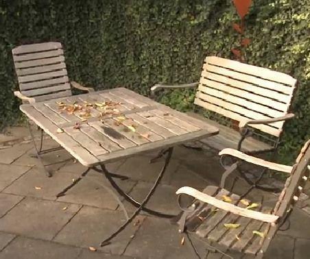 how to renew teak garden furniture teak rh co pinterest com