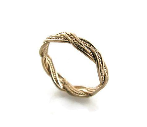 ElenadE Sterling Silver Triple Rolling ring