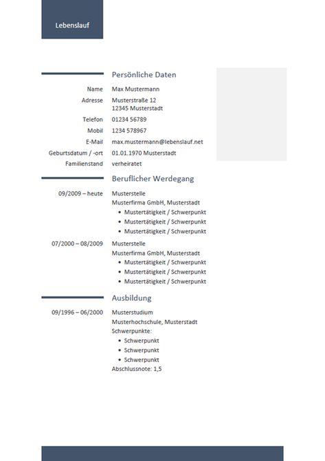 Kostenlose Lebenslauf Vorlage Fur Word Schnell Und Einfach Editierbar Erziele Einen Professionellen Eindruck Mit Deinem Lebensl Vorlagen Lebenslauf