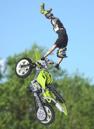Lego Motocross Jump Motocross Freestyle Motocross Motorcycle